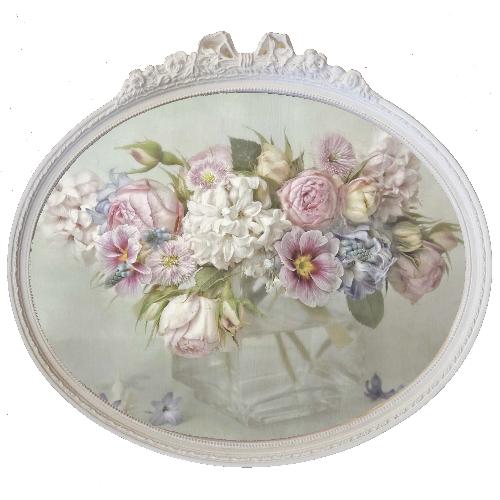 quadro-ovale-con-cornice-e-fiori-54x48cm